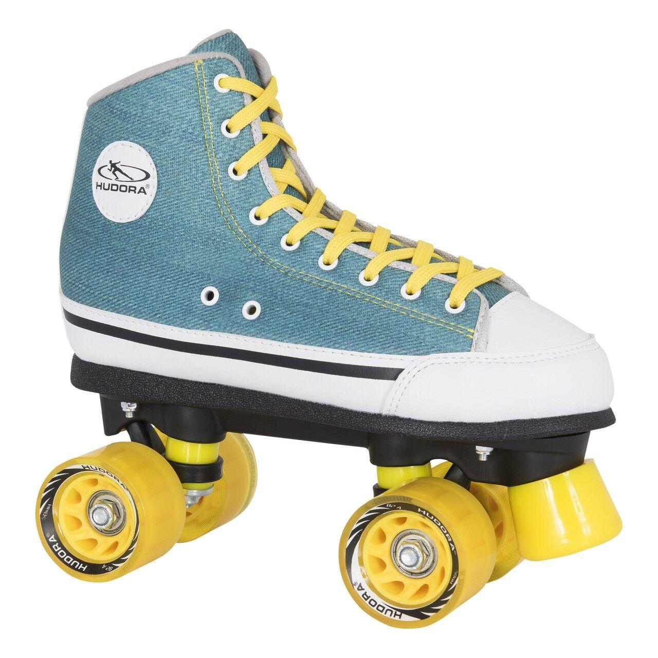 HUDORA Rollschuhe Roller Skates Grün Denim Gr. 42