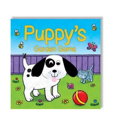 """1 of 1 - """"VERY GOOD"""" Finger Puppet Fun: Puppy's Garden Game (Hand Puppet Fun), Igloo Book"""