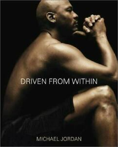 MICHAEL-JORDAN-Driven-from-Within-a-hardcover-book-FREE-USA-SHIPPING-basketball