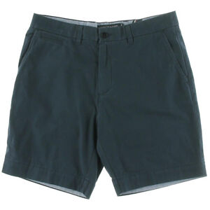 Tommy-Hilfiger-Shorts-Khaki-Chino-Custom-Fit-Core-Navy-Twill-Sz-32-NEW-Mens