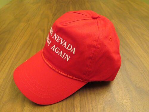 MAKE NEVADA GREAT AGAIN USA HAT DONALD TRUMP CAP MIDTERMS RED KAG UNLV MAGA
