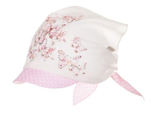 2 ans fille Jamiks filles coton chapeau foulard-printemps//été taille 9 mois