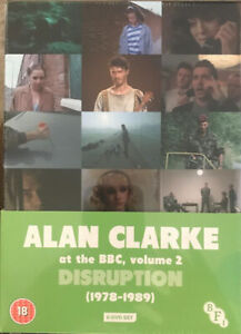 Alan-Clarke-at-the-BBC-Volume-2-Disruption-1978-1989-DVD-2016-Gift-Idea-NEW