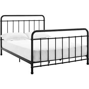 Image Is Loading Twin Full Size Metal Platform Bed Frame Amp