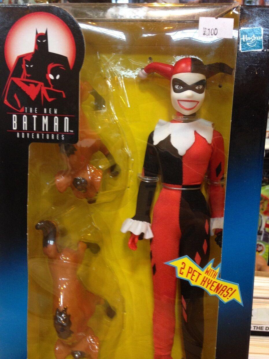 Kenner batman - abenteuer harley quinn 12  action - figur animierte dc comics