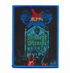 Dark-Angel-034-Darkness-Descends-Patch-slayer-vio-lence-morbid-saint-exodus-coroner