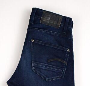G-Star-Raw-Herren-Revend-Super-Slim-Jeans-Stretch-Groesse-W30-L32-ATZ485