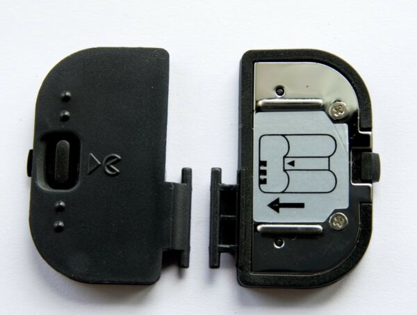 Marque Populaire Batterie De Porte Couvercle Pour Nikon D700 D200 D300 D300s & Fuji S5 Vendeur Britannique * Gagner Les éLoges Des Clients