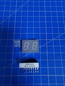 LOT 5 X Afficheurs LED 2 caractères  HDSP-G201  104  D