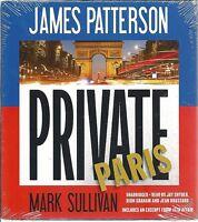 Private Paris James Patterson Audio Book Unabridged Brand 8 Cds Sealed
