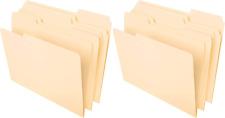 File Folders Letter Size Classic Manila Center Positions 100 Per Box 2 Pac