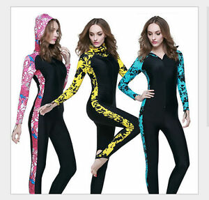 9645fbe69a Women Anti-uv Diving Suit One-Piece Swimming Wetsuit Warm Snorkeling ...