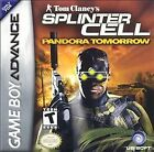 Tom Clancy's Splinter Cell: Pandora Tomorrow (Nintendo Game Boy Advance, 2004) - European Version
