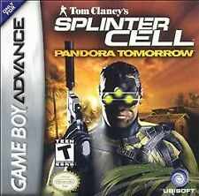 Tom Clancy's Splinter Cell: Pandora Tomorrow (Nintendo Game Boy Advance, 2004)