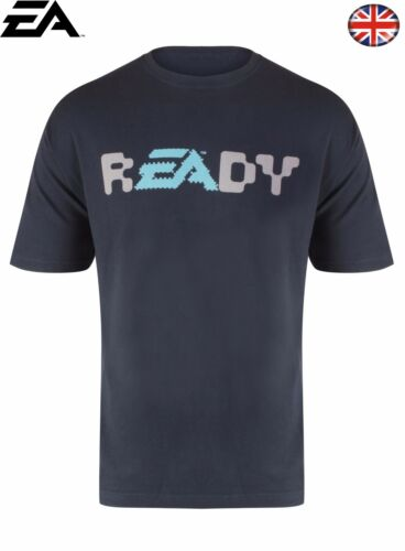 New Mens EA READY T Shirt Navy Blue Size XXL Limited QuantityFast UK Post