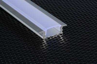 PROFILE ALUMINUM 1M FOR STRIPS LED STRIP BAR RIGID 1MT CHOICE + COVERAGE