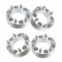 (4) 2 Chevy 6 Lug Wheel Spacers Adapters Fits Silverado 1500 Tahoe Suburban