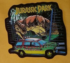 54a587989d Image is loading Jurassic-Park-Car-Sticker -Classic-Movie-Memorabilia-Dinosaur-