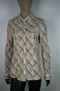 MARLBORO-CLASSICS-SLIM-FIT-Camicia-Shirt-Maglia-Chemise-Hemd-Tg-XL-Woman-Donna