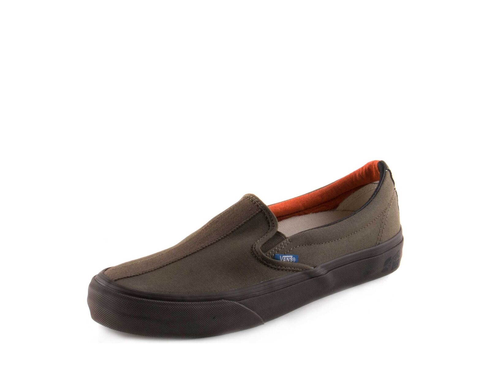Vans Mens TH Slip On 66 LX Olive VN0A3DPVURA