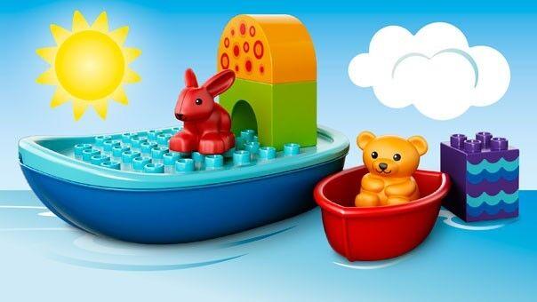 Set de Construcción de Barcos para Bebés Bebés Bebés - LEGO DUPLO  10567 - NUEVO c61535