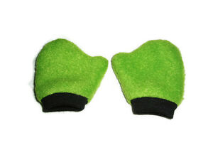 Green-Mittens-with-Black-Trim-18-034-Doll-Clothes-Fits-American-Girl-Dolls