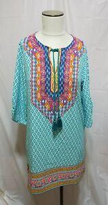 29c4c86e374 WOMEN URBAN COCO SIZE SMALL SHIRT DRESS HIPPIE FESTIVAL BOHO #1A | eBay