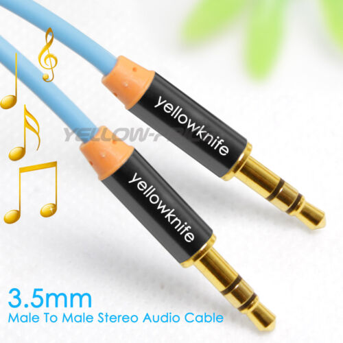 3.3Ft 3.5mm AUX AUXILIARY CORD Male to Male Stereo Audio Cable for iPod MP3 CAR