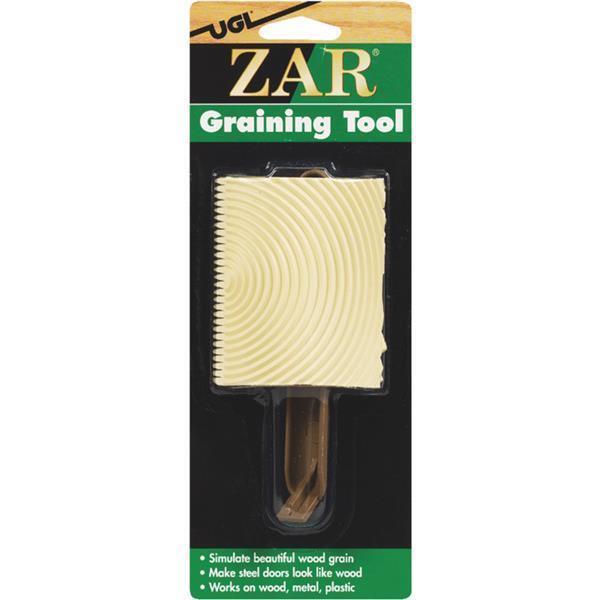 (6) Simulate Grain Wood Graining Tool for Metal Plastic Fiberglass UGL Zar 14377