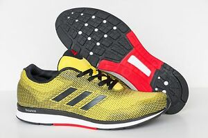 295ad7c6a NEW ADIDAS MANA BOUNCE 2M ARAMIS YELLOW MEN'S RUNNING SHOES ALL ...