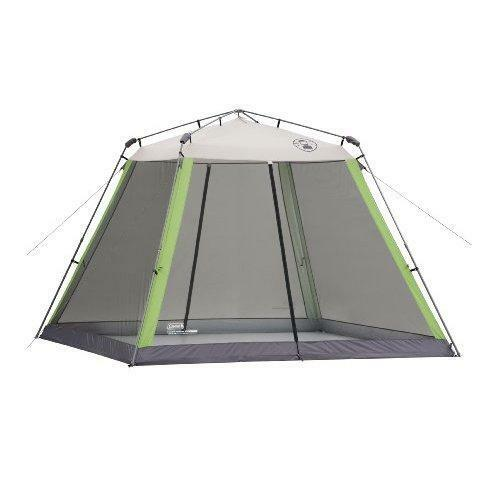 NEW Coleman 15 X 13 Instant Screened Shelter Heavy Duty 150D Picnic Tent Canopy