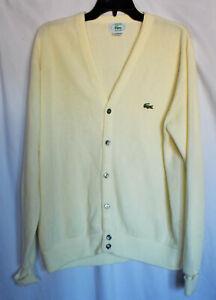Beautiful vintage Lacoste cardigan