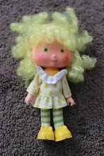"Vintage 1979 Strawberry Shortcake Doll Lemon Meringue Pie 5"" tall American Greet"