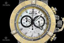 Invicta 50mm Subaqua Noma III Stone Polished Swiss Chronograph Strap Watch 18448