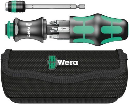 Wera 05051024001 Kraftform Kompakt 25 Slotted and Phillips Bitholding