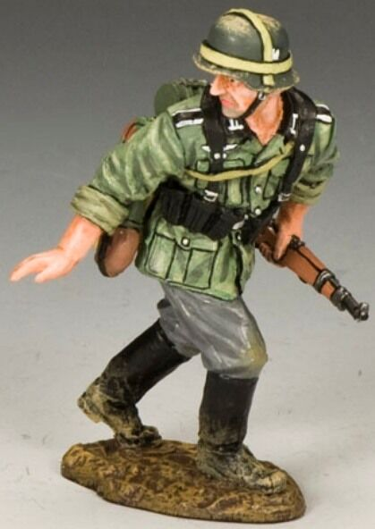 King & Country WW2 Ejército Alemán WS214 Wait  MIB