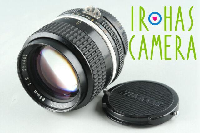 Nikon Nikkor 85mm F/2 Ais Lens #29577 H23
