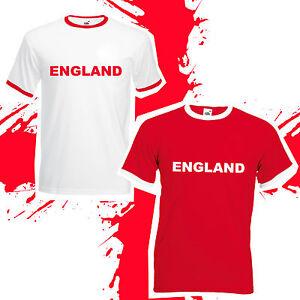 3f4658fce England Football World Cup 2018 T-Shirt - Retro Supporters Shirt ...