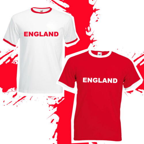 the best attitude 3b9c7 e9827 England Football World Cup 2018 T-Shirt - Retro Supporters ...