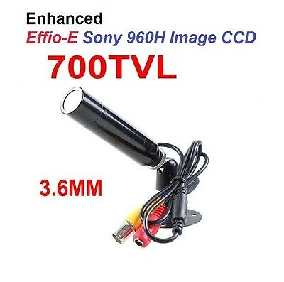 700TVL Sony CCD 3.6mm Lens Mini Bullet Outdoor Waterproof Security CCTV Camera