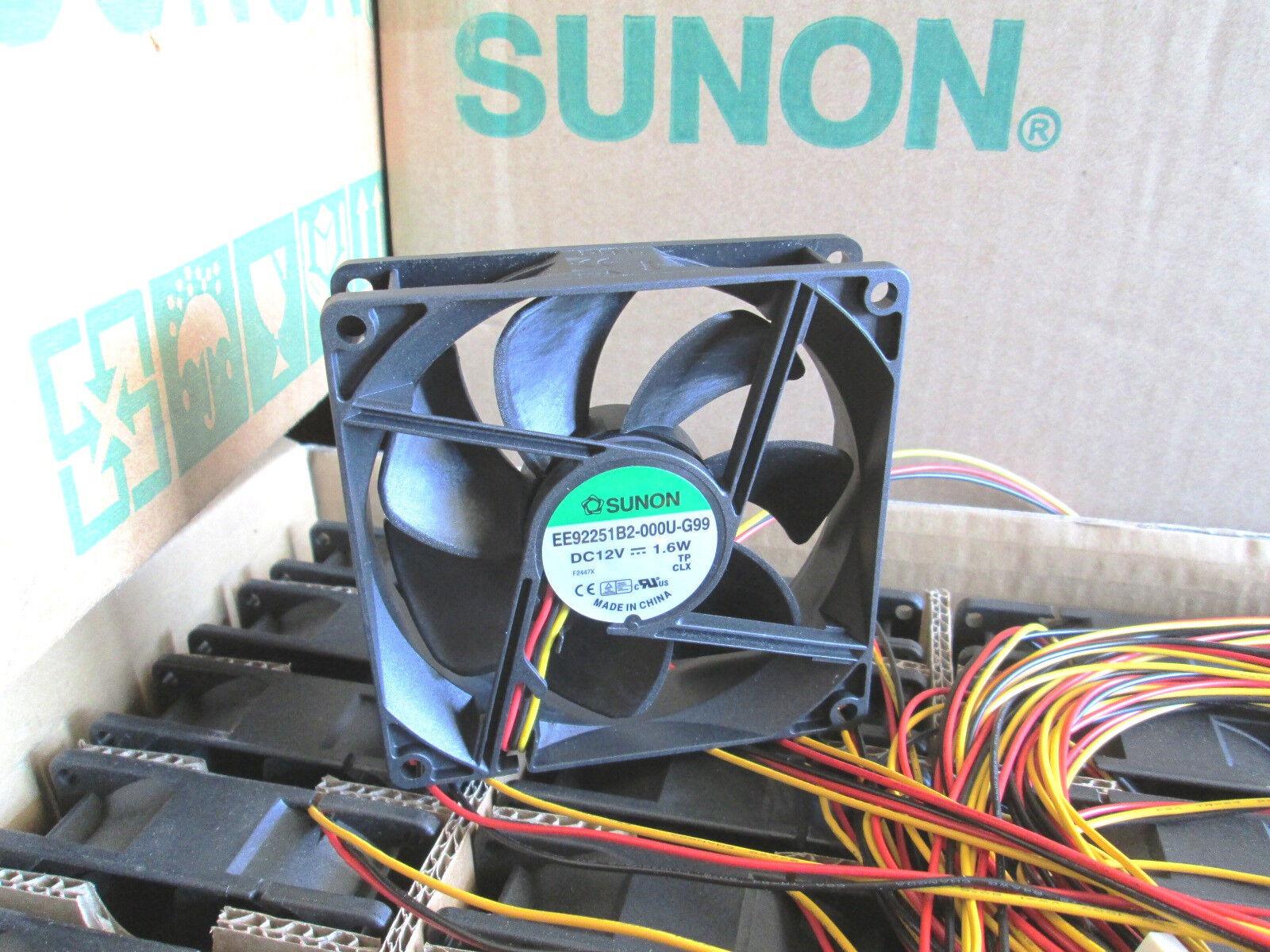 Sunon ME60151V2-000U-G99 Hi-speed 4700RPM 21.9CFM 60mmx15mm-3pin Tach Sensor
