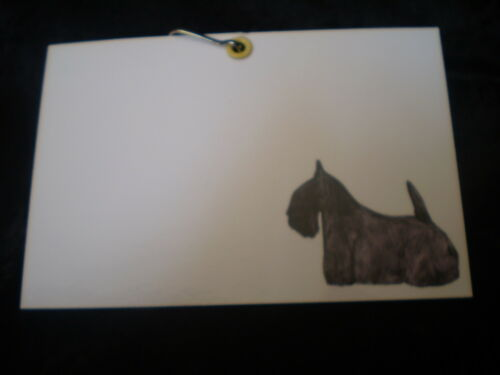 Scottish Terrier Cage//Crate Identification ID Tag for Dog Shows KC Requirement