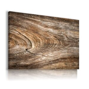 BROWN-WOODEN-PATTERN-CANVAS-WALL-ART-PICTURE-LARGE-SIZES-WS26-MATAGA