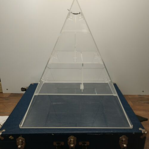 Nasco Acrylic Food Pyramid Display