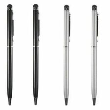 2 in 1 Touch Screen Stylus Ballpoint Pen for iPad iPhone iPod Tablet Smartphone