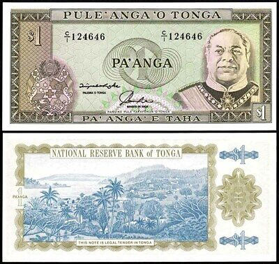 Tonga 1 Pa/'anga Paanga ND 1992-95 P-25 UNC