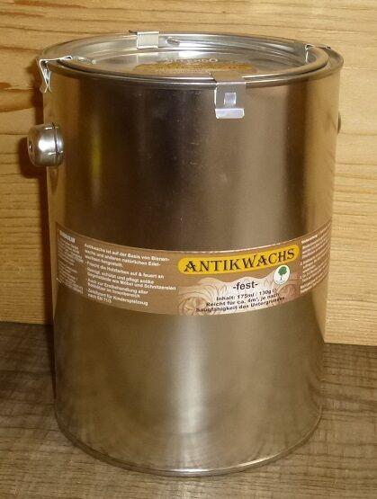 ( /l) 2,5 Liter ANTIKWACHS fest mit Bienenwachs Dose  farblos/neutral