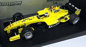Minichamps-1-18-Scale-100-040018-Jordan-Ford-EJ-14-N-Heidfeld-Diecast-F1-Car