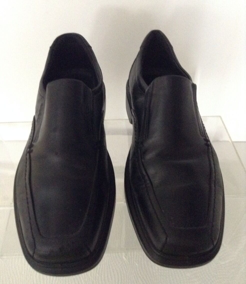 0ad726c76d88 ... Man Woman Ecco Ecco Ecco Mens Black Leather Shoes 42 Easy to use  Impeccable buy