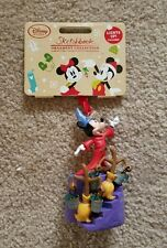 Disney Sketchbook 2016 Sorcerer Mickey Light Up Ornament New with Tags